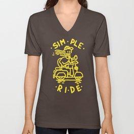 Simple Ride Unisex V-Neck