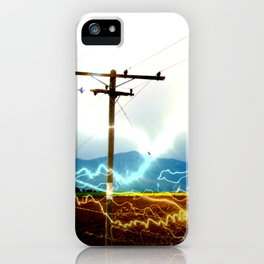Power Baby, Power by D. Porter iPhone Case