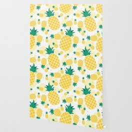 Pineapple Sunshine Wallpaper