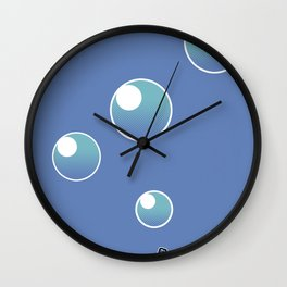 Pink Cousteau Wall Clock