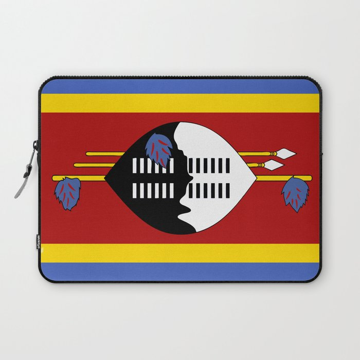 Flag of Swaziland Laptop Sleeve