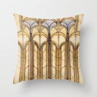 palms Throw Pillows featuring Palms by Steve W Schwartz Art