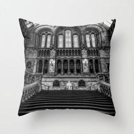 History Museum London Throw Pillow