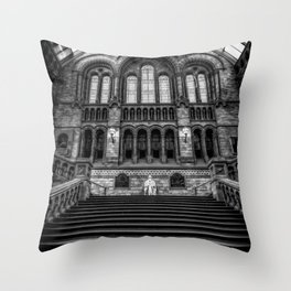 History Museum London Throw Pillow