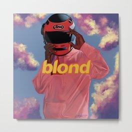Blonded Metal Print