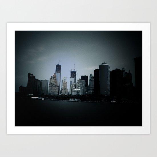 New York in 20 pics - Pic 7. Art Print