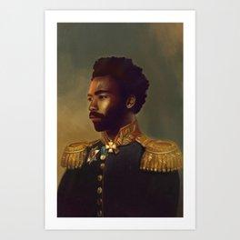 Sir Gambino Art Print