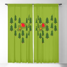 Camping Love Blackout Curtain