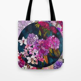 Purple Globes of Rhododendron  Tote Bag