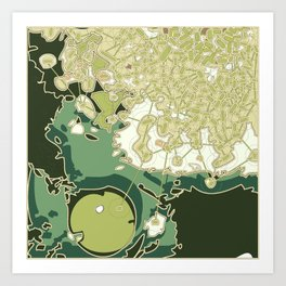 Planning Strategy #06 Art Print