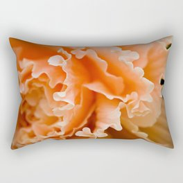 Creamsicle Begonia  Rectangular Pillow