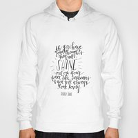 roald dahl Hoodies featuring They Will Shine | Roald Dahl Print by Voilà Paper Co.