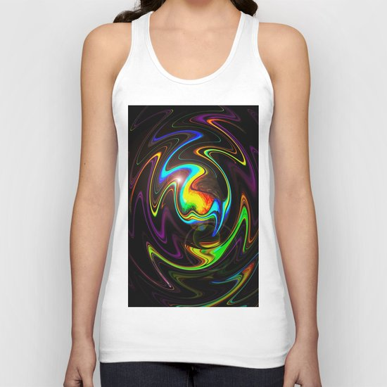 Abstract Perfection Unisex Tank Top