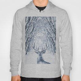 Winter deer Hoody
