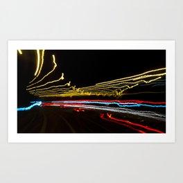 Street Light II - Cornellscourt Art Print