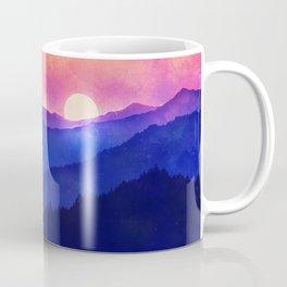 Cobalt Mountains Coffee Mug
