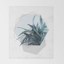 Geometric Jungle Throw Blanket
