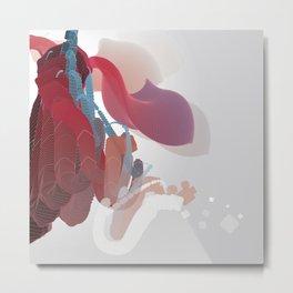 Cosmic Elephant  Metal Print