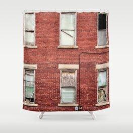 Brickhouse Shower Curtain