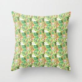 Grass Starters Throw Pillow