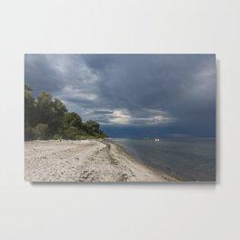 nature reserve in lieps, baltic sea Metal Print