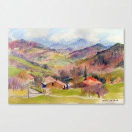Les Tougnets Canvas Print