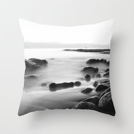 Whisper Rocks Throw Pillow