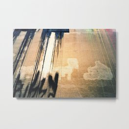 analog abstracts (pussy wall) Metal Print