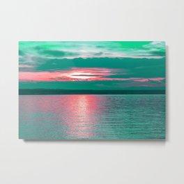 Sunset at Sea II Metal Print