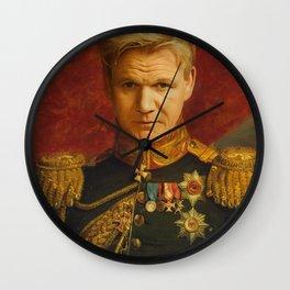 Gordon Ramsay Portrait Wall Clock