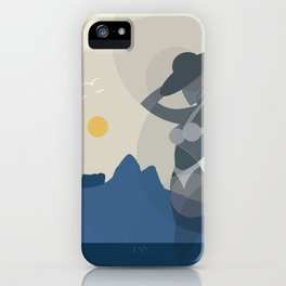 Girl from Ipanema iPhone Case