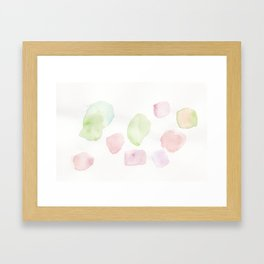 180807 Abstract Watercolour 10   Colorful Abstract  Modern Watercolor Art Framed Art Print