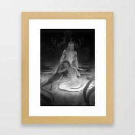 Dooriya and Varan Framed Art Print