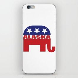Alaska Republican Elephant iPhone Skin