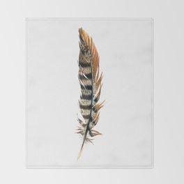 Pheasant Feather Throw Blanket