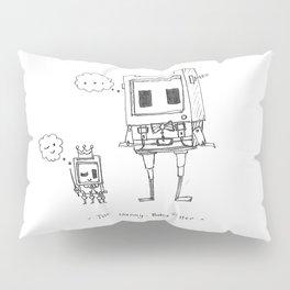 Nanny Bot Pillow Sham