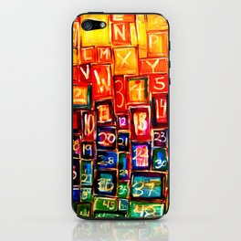 Orderly Disorder iPhone Skin