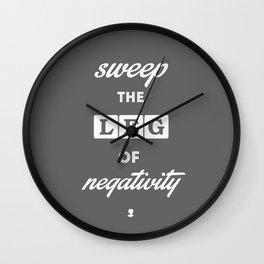80's Movie Motivation: Cobra Kai Wall Clock