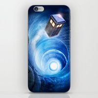 doctor who iPhone & iPod Skins featuring Doctor Who by Joe Roberts