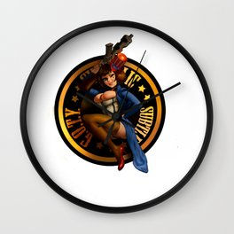 Ceci n'est pas une jeux vidéo Wall Clock