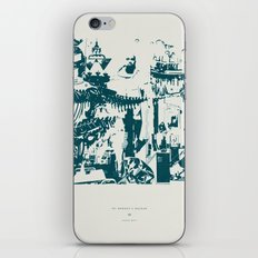 Other side of the glass. iPhone & iPod Skin