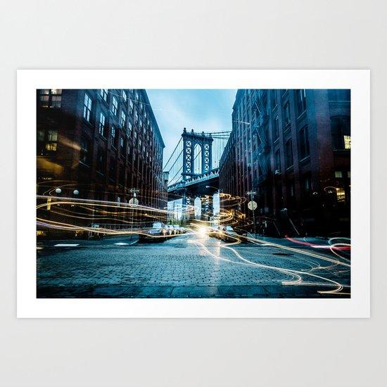 Brooklyn Bridge 2 Art Print