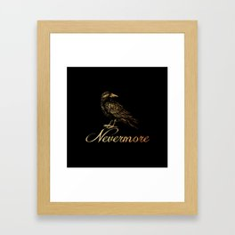 'Nevermore' Framed Art Print