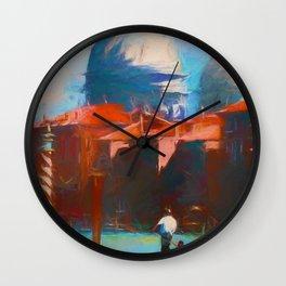 Venice - signed Wall Clock