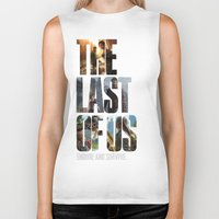 last of us Biker Tanks featuring The Last of Us by fardeen