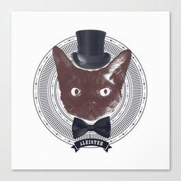 Top Hat Bat Canvas Print