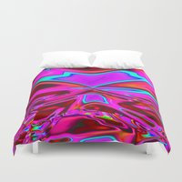vector Duvet Covers featuring Vector-Graph by David  Gough