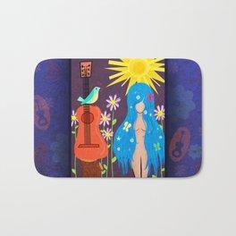 Music Makes Love and Love Makes Music Bath Mat