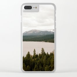 Lake Tahoe Clear iPhone Case
