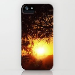 Sunset Silhouettes | Beautiful Nature iPhone Case